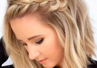 Awesome pin on hair Braided Hairstyles For Curly Medium Length Hair Inspirations