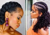 Stylish 21 easy ways to wear natural hair braids stayglam Braid Styles On Natural Hair Inspirations