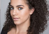 Trend 25 easy and cute hairstyles for curly hair southern living Braided Hairstyles For Curly Medium Length Hair Ideas